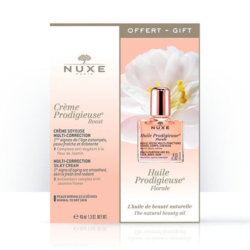Creme Prodigieuse® Boost Creme soyeuse multi-correction + GRATIS Huile Prodigieuse Florale