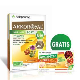 Slika Arkoroyal® Immunité Fort BIO + GRATIS vitamin C