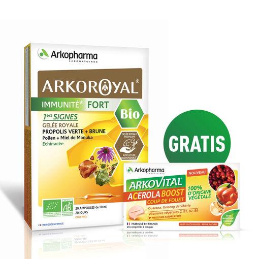 Arkoroyal® Immunité Fort BIO + GRATIS vitamin C