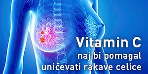Intravenska uporaba vitamina C naj bi pomagala uničevati rakave celice