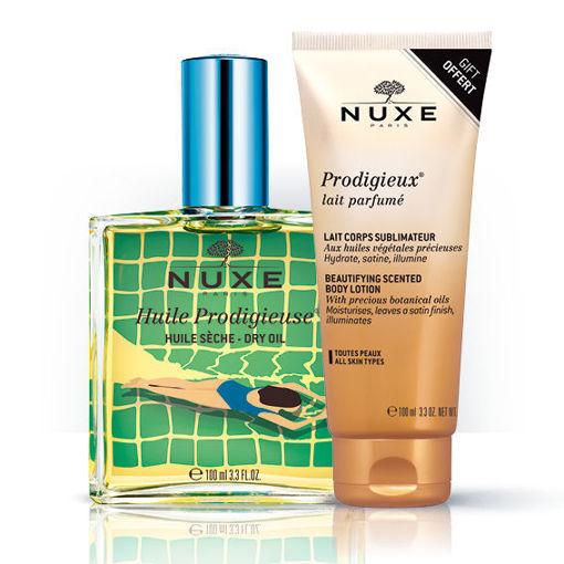 Huile Prodigieuse® - Limited Edition Blue + Gratis Lait parfume