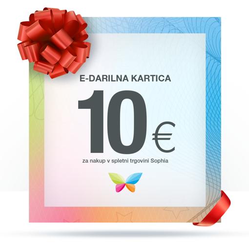 e-Darilna kartica 10 €