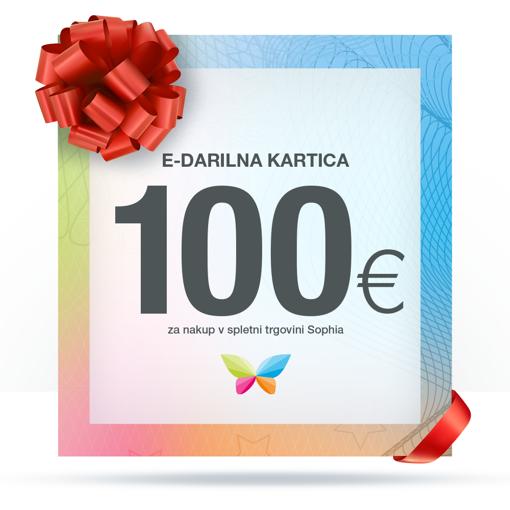 e-Darilna kartica 100 €
