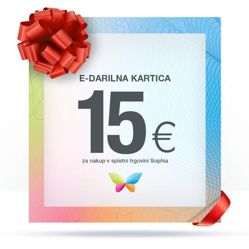 e-Darilna kartica 15 €