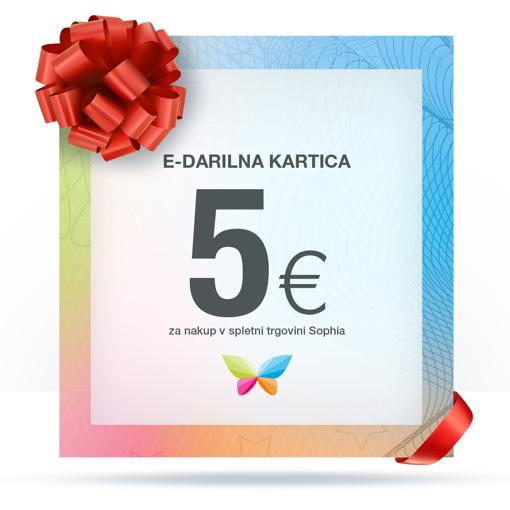 e-Darilna kartica 5 €