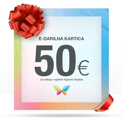 e-Darilna kartica 50 €