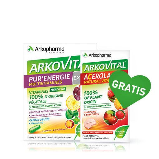 Arkovital® Pure Energy Expert + GRATIS vitamin C