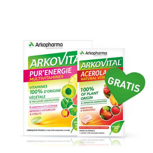 Arkovital® Pure Energy + GRATIS vitamin C