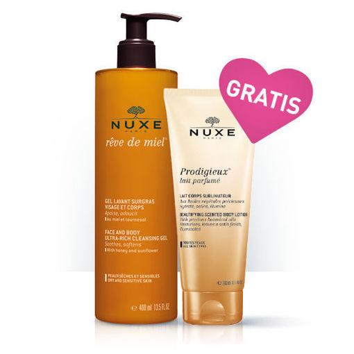 Rêve de Miel® Gel Lavant Surgras + GRATIS Prodigieux® lait parfumé
