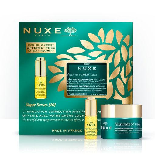 Nuxuriance® Ultra Crème Riche Redensifiante Anti-Âge Global  + mini Super serum [10]