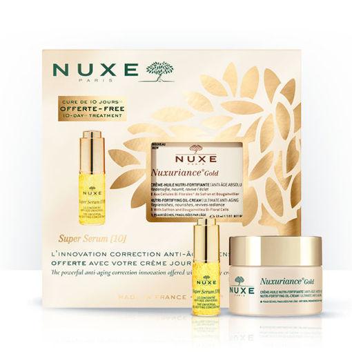 Nuxuriance® Gold Crème-Huile Nutri-Fortifiante + mini Super serum [10]